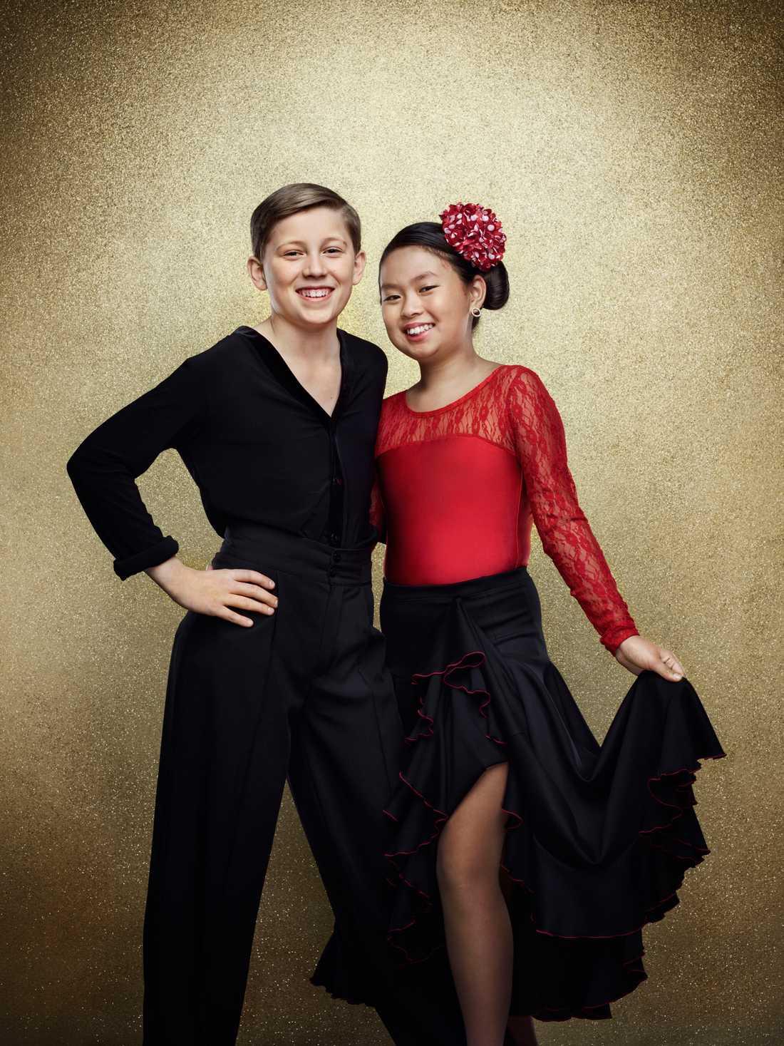Olle Jansson, 12 år. Känd från Wild kids och dansar med Mikaela Rännare.