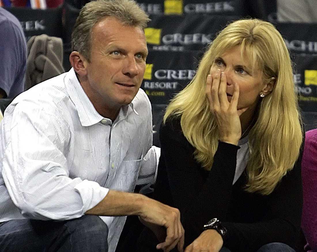 Joe och Jennifer Montana.