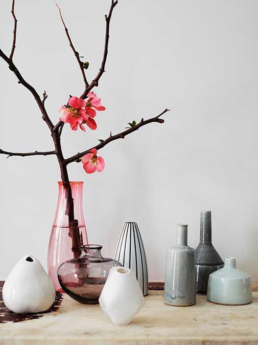 Udda vaser blir en allt mer vanlig inrednings detalj