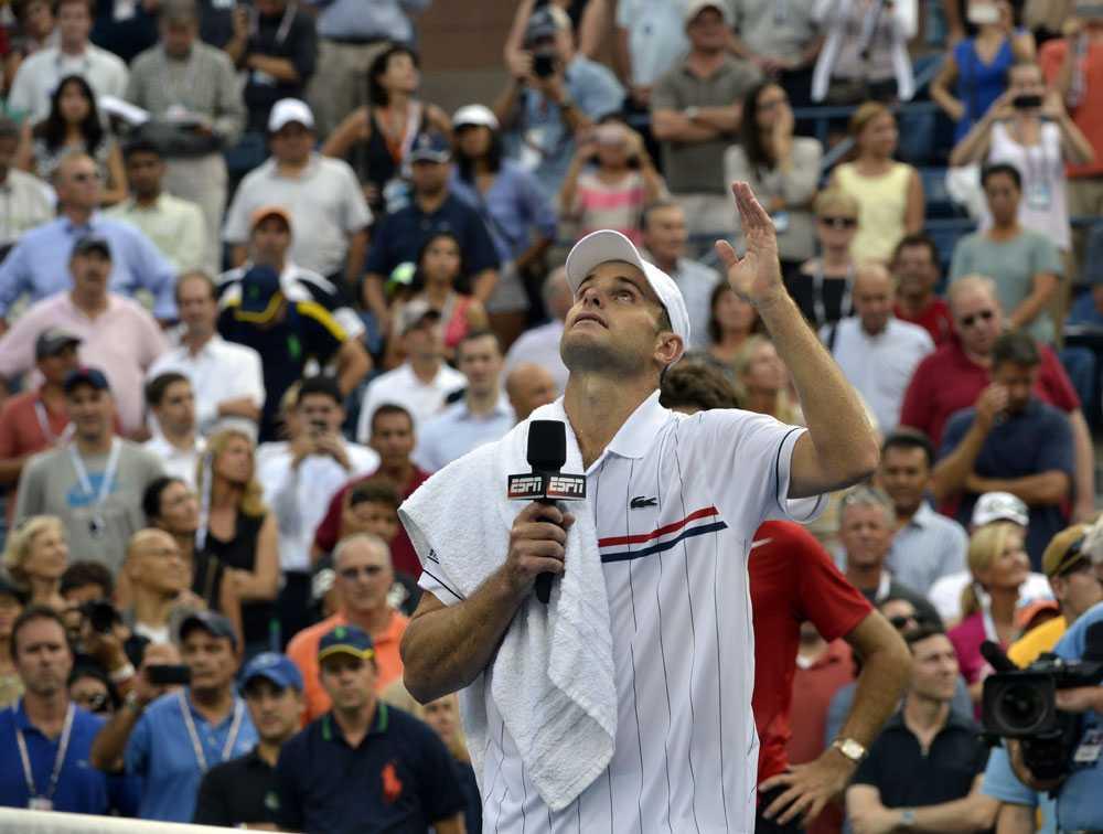 Andy Roddick hyllade många under sitt tacktal efter US Open-förlusten.