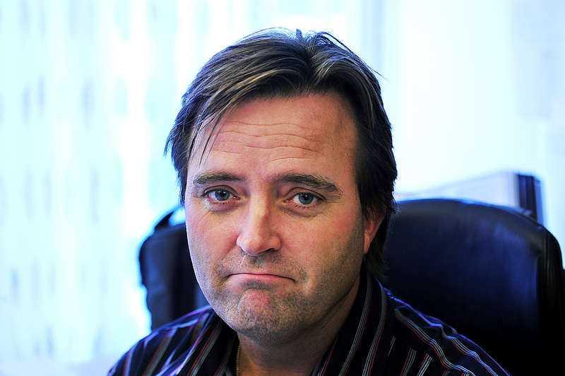 Jan Olsson, förundersökningsledare på polisens nationella bedrägericenter.