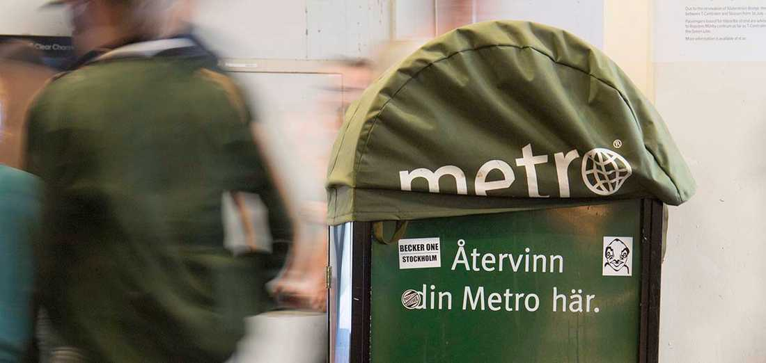 Tidningen Metro kommer inte längre att ägna sig åt journalistik.
