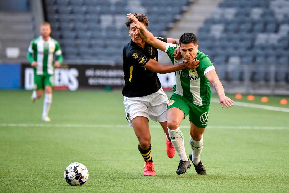 Stockholmsderby avgör om Robin Tihis AIK eller Paulinhos Hammarbys går vidare i svenska cupen. Arkivbild.