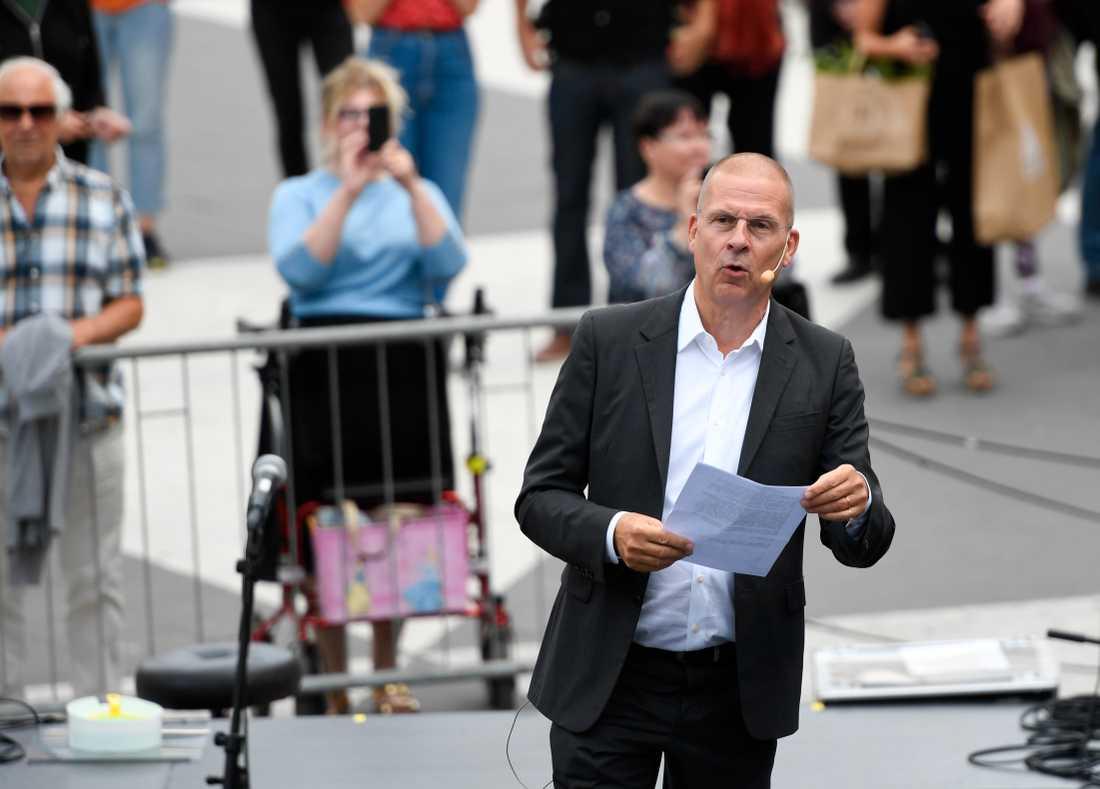 Benny Fredriksson. Arkivbild.