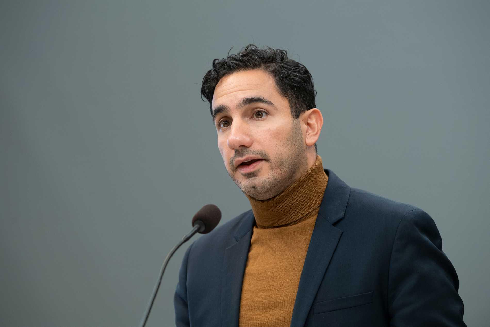 Socialförsäkringsminister Ardalan Shekarabi (S).