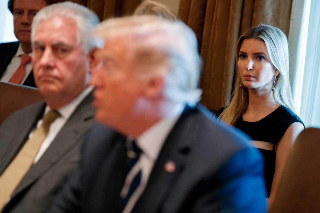 Ivanka Trump är inte bara presidentens äldsta dotter, utan också hans rådgivare.