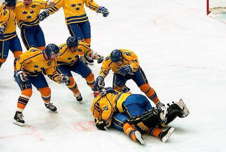 Tre Kronor i OS i Lillehammer 1994