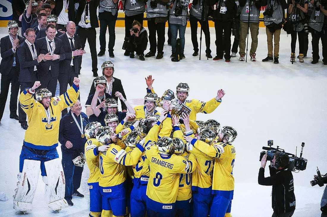 Hockey-VM-rättigheterna köptes av TV4…