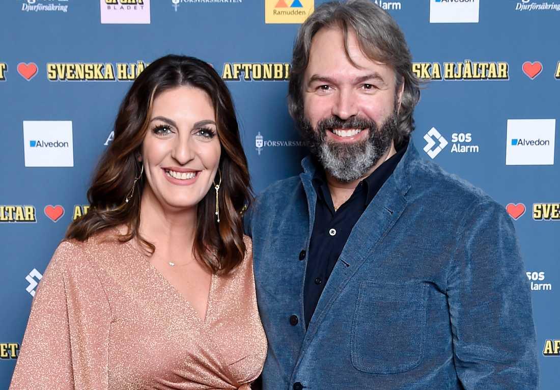 Soraya Lavasani och Ralph Olsson fick under torsdagen en son.