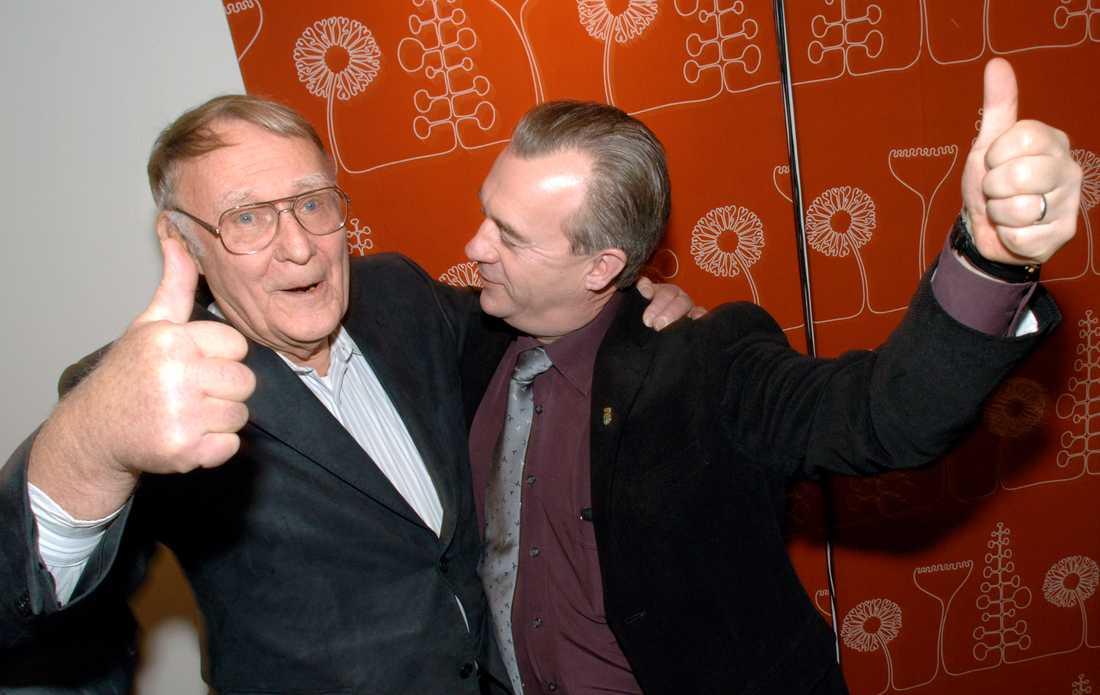 Sven-Erik Bucht och Ingvar Kamprad.