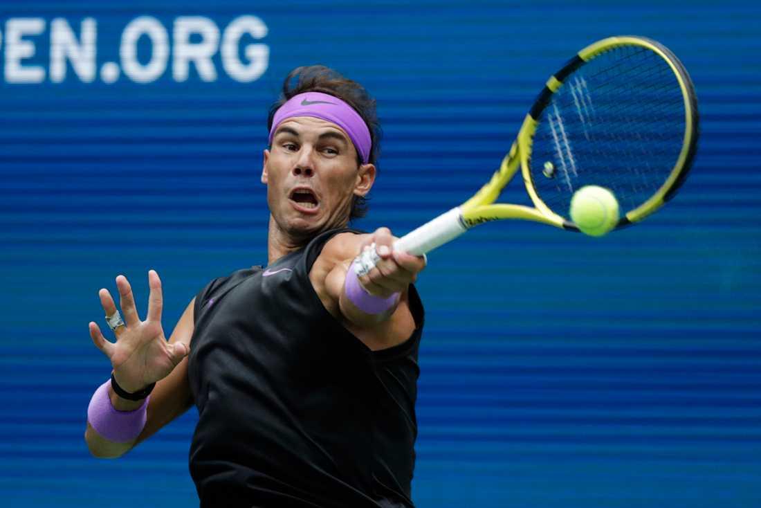 Rafael Nadal tog hem sin fjärde US Open-titel.