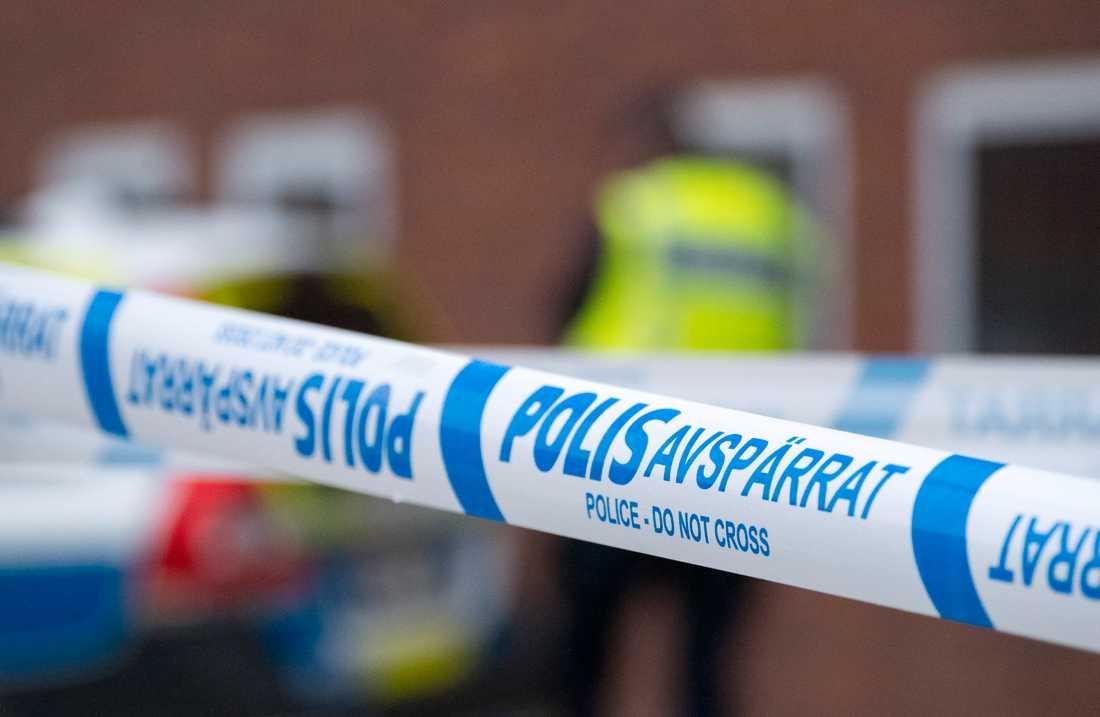Två män har anhållits som misstänkta för mord sedan en kvinna hittats död på en ort i Vimmerby kommun i Småland. Arkivbild.