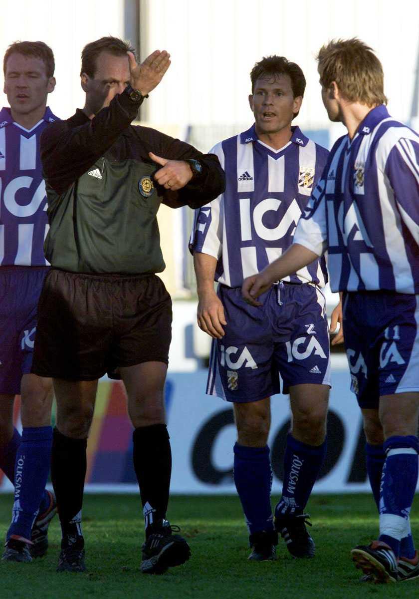 Tillbaka i Götet 1999 gjorde han comeback i IFK Göteborg.