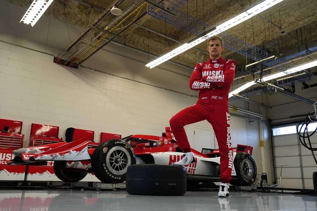Marcus Ericsson debuterar för Chip Ganassi Racing i år