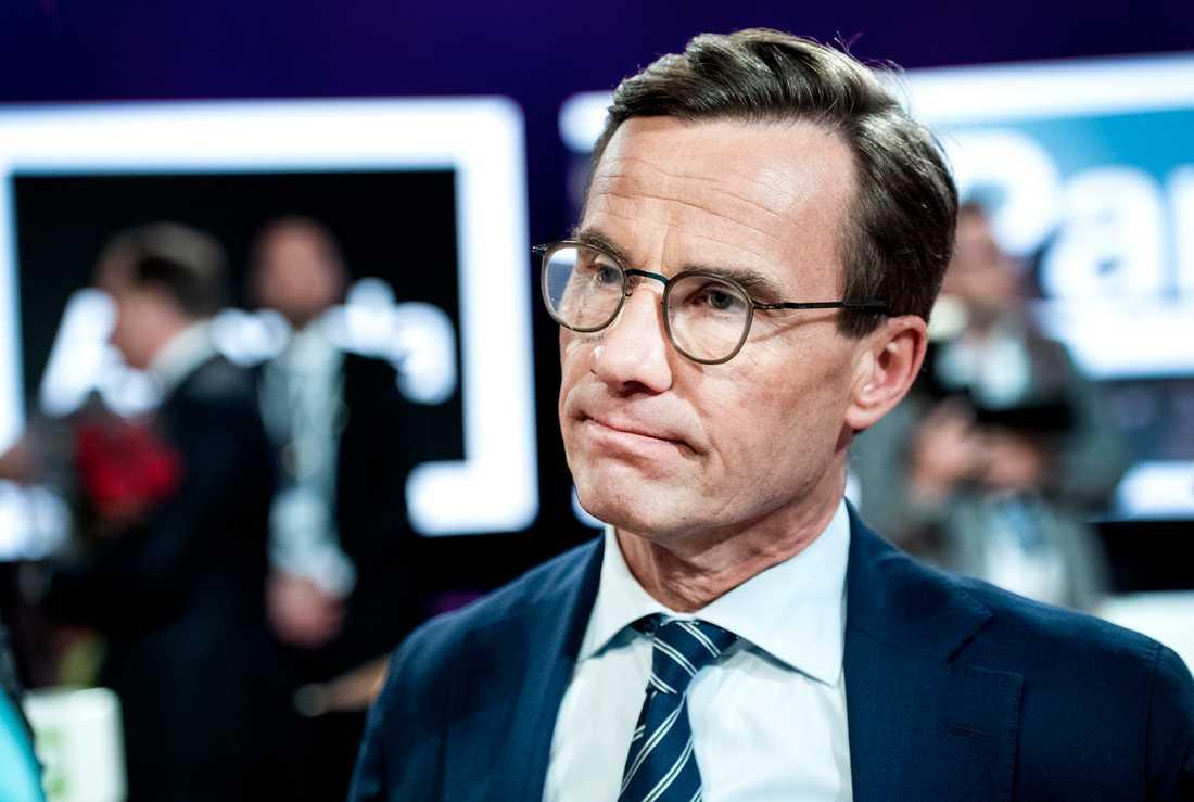 Moderatledaren Ulf Kristersson kallar Löfvens uttalande för pinsamt.