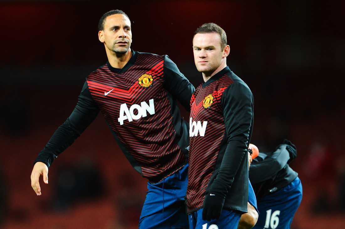 """Genom åren ska gruppen """"Men in Black"""" även ha gett sig på Rio Ferdinands och Wayne Rooneys hem."""