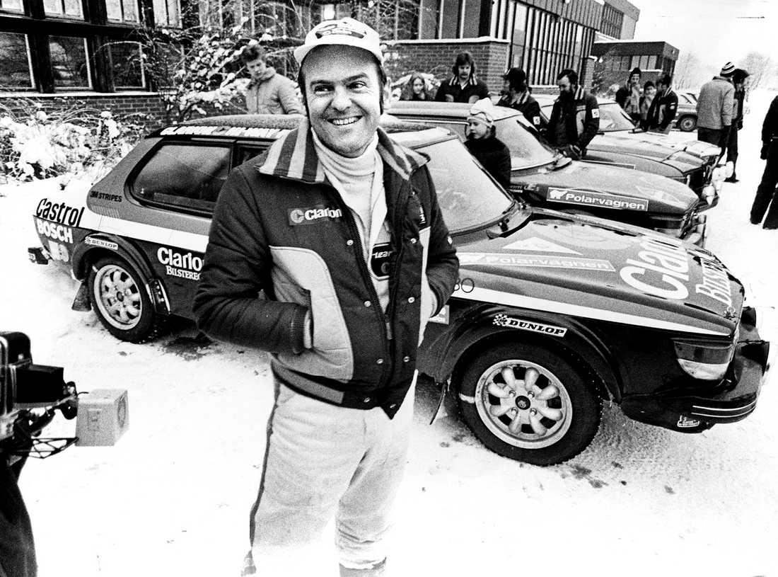 Stig Blomqvist körde för Saab tills fabriken lade ner  rallyverksamheten 1980.