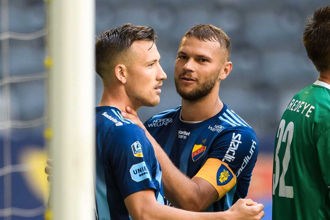 Fredrik Ulvestad (t.v.) och Jesper Karlström (t.h.).