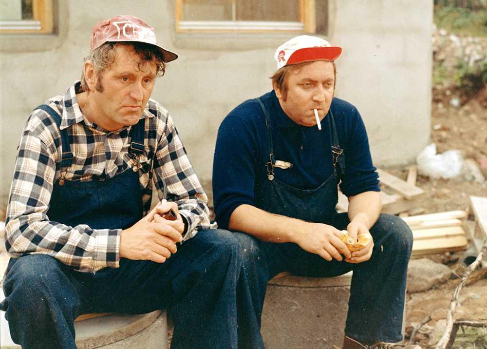 """Han var också med i komedin """"Norska byggklossar"""". FOTO: VIASAT/NORDISK FILM"""