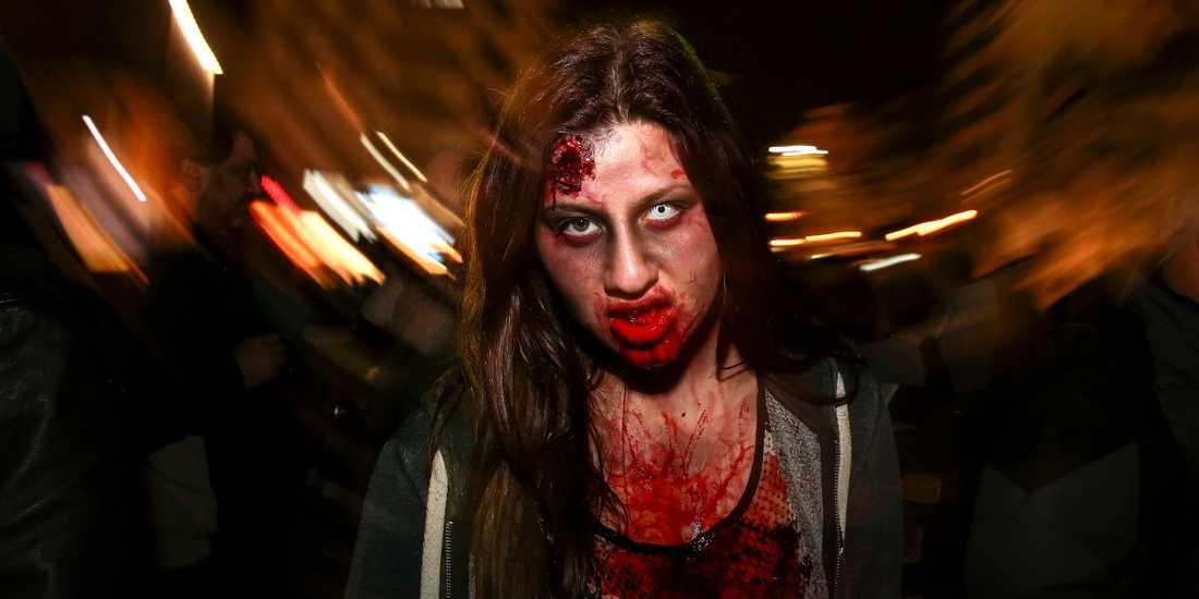 Zombies jagar löpare i Uppsala