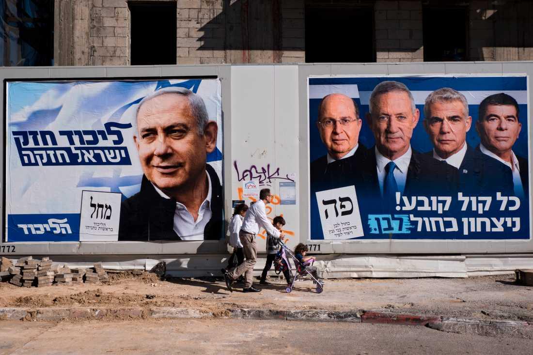 I mars kommer det kanske att se ut såhär på gatorna i Israel igen. Arkivbild.