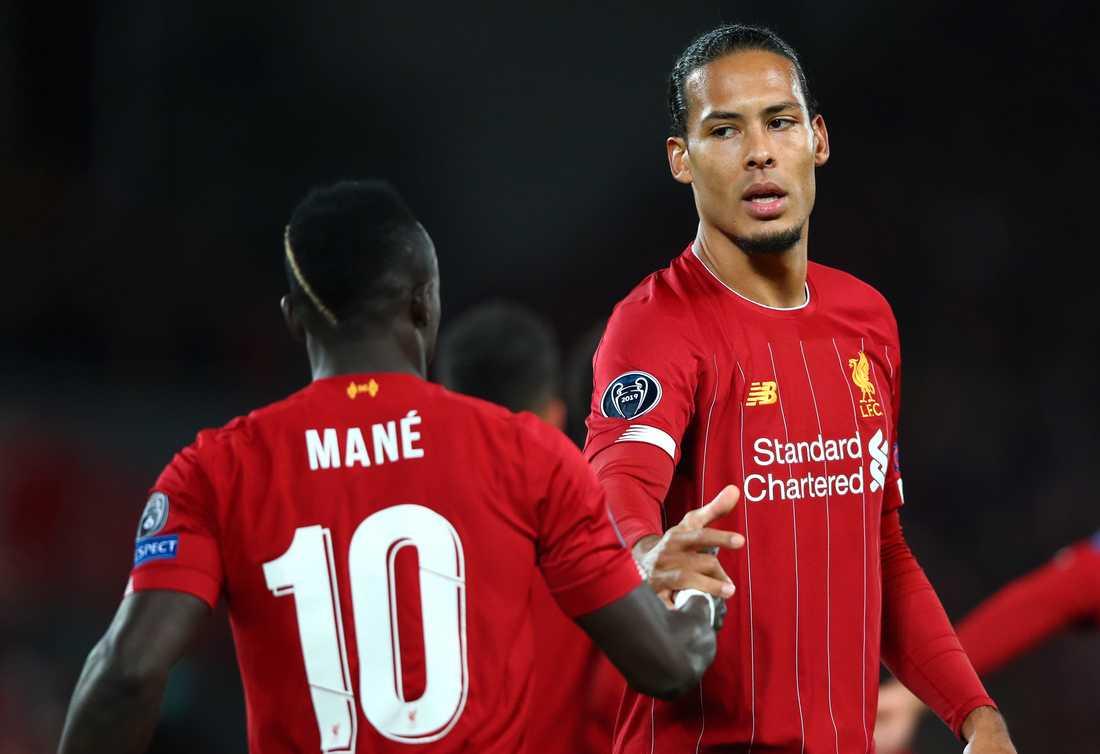 Sadio Mané och Virgil van Dijk i Liverpool.