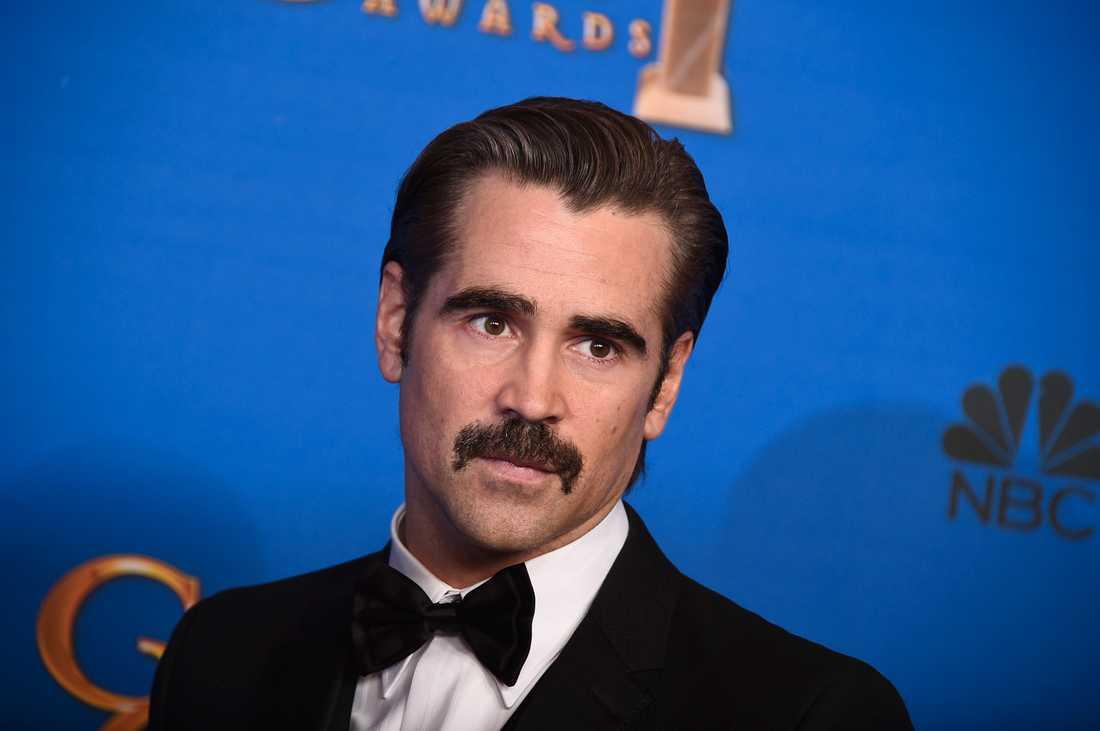 Colin Farrell på Golden Globe-galan 2015.
