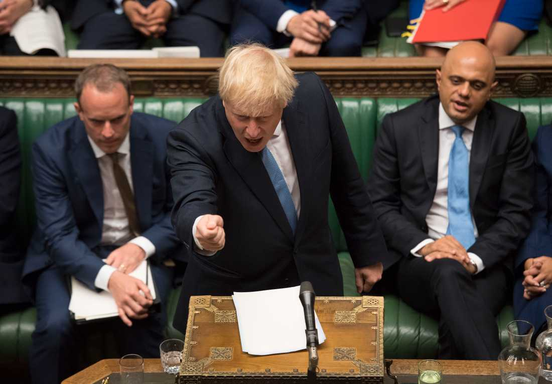 Boris Johnson är både bisarr och kompromisslös.