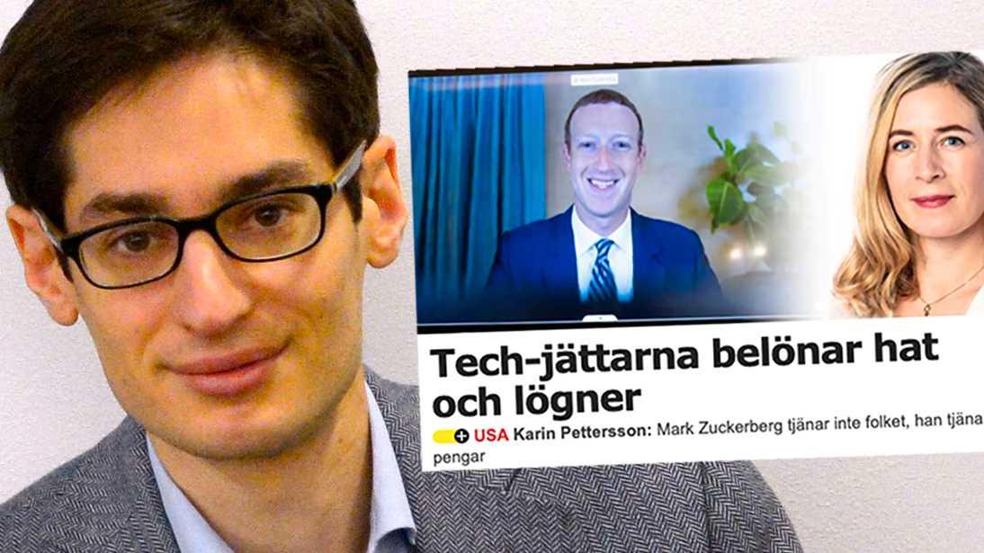Peter Wolodarski, chefredaktör för Dagens Nyheter, och Karin Pettersson, kulturchef på Aftonbladet, har båda skrivit om problemen med sociala mediers dominans.