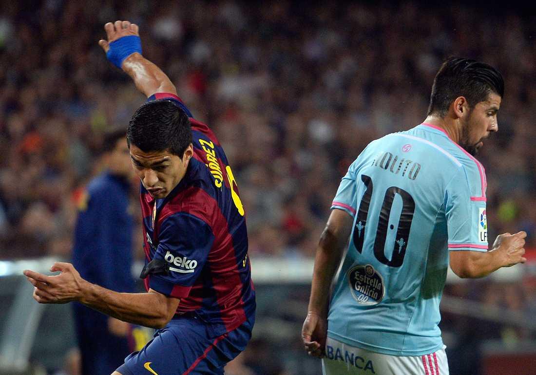 Nolito jagas av Barcelona.