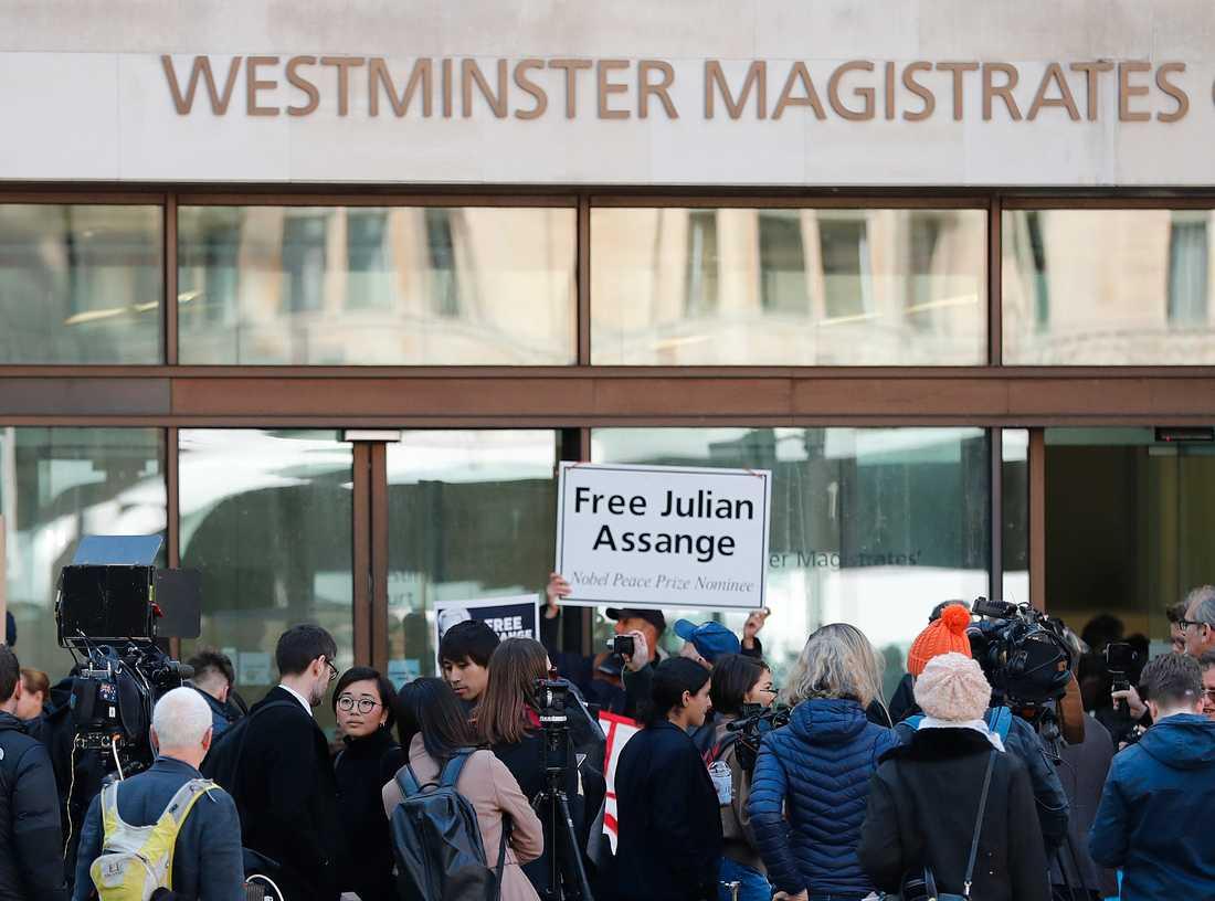 Den 36-årige svensken som sitter häktad i Ecuador är vän till Wikileaksgrundaren Julian Assange. Arkivbild.