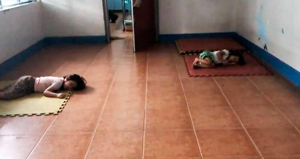 När Darin Zanyar besökte barnhemmet låg barn på golvet.