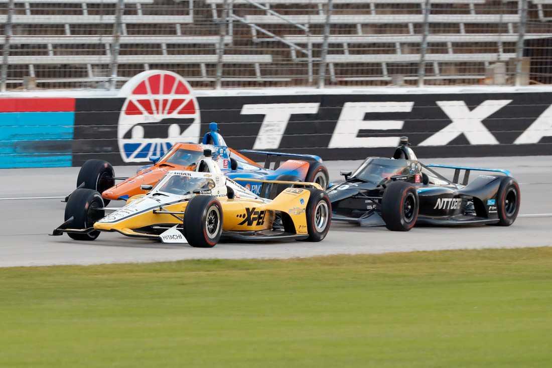Felix Rosenqvist under första tävlingen i Texas.