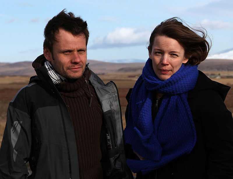 Aftonbladets Jerker Ivarsson, fotograf, och Karin Östman, reporter är på plats på Island.