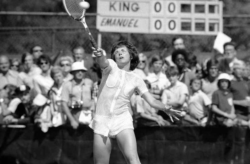 Billie Jean King 1972.