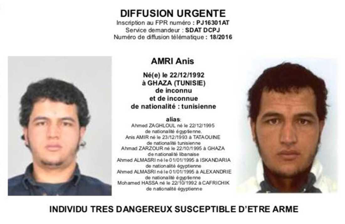 Europol har gått ut med den misstänkte gärningsmannens identitet och bild.