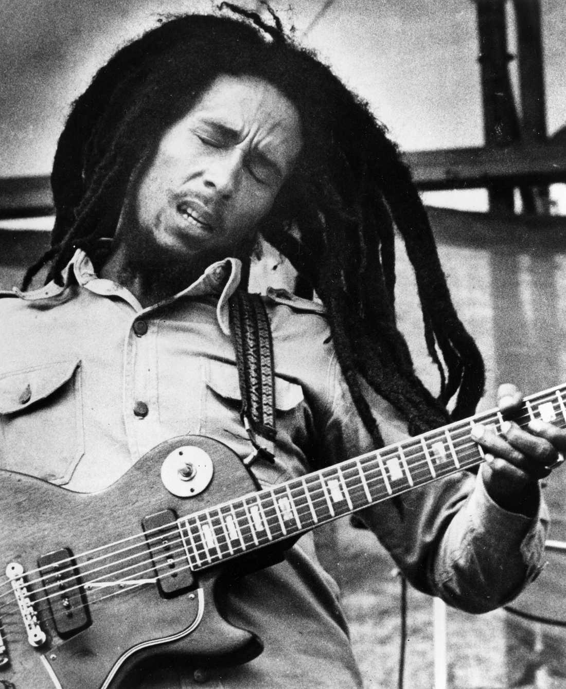 14 Bob Marley.