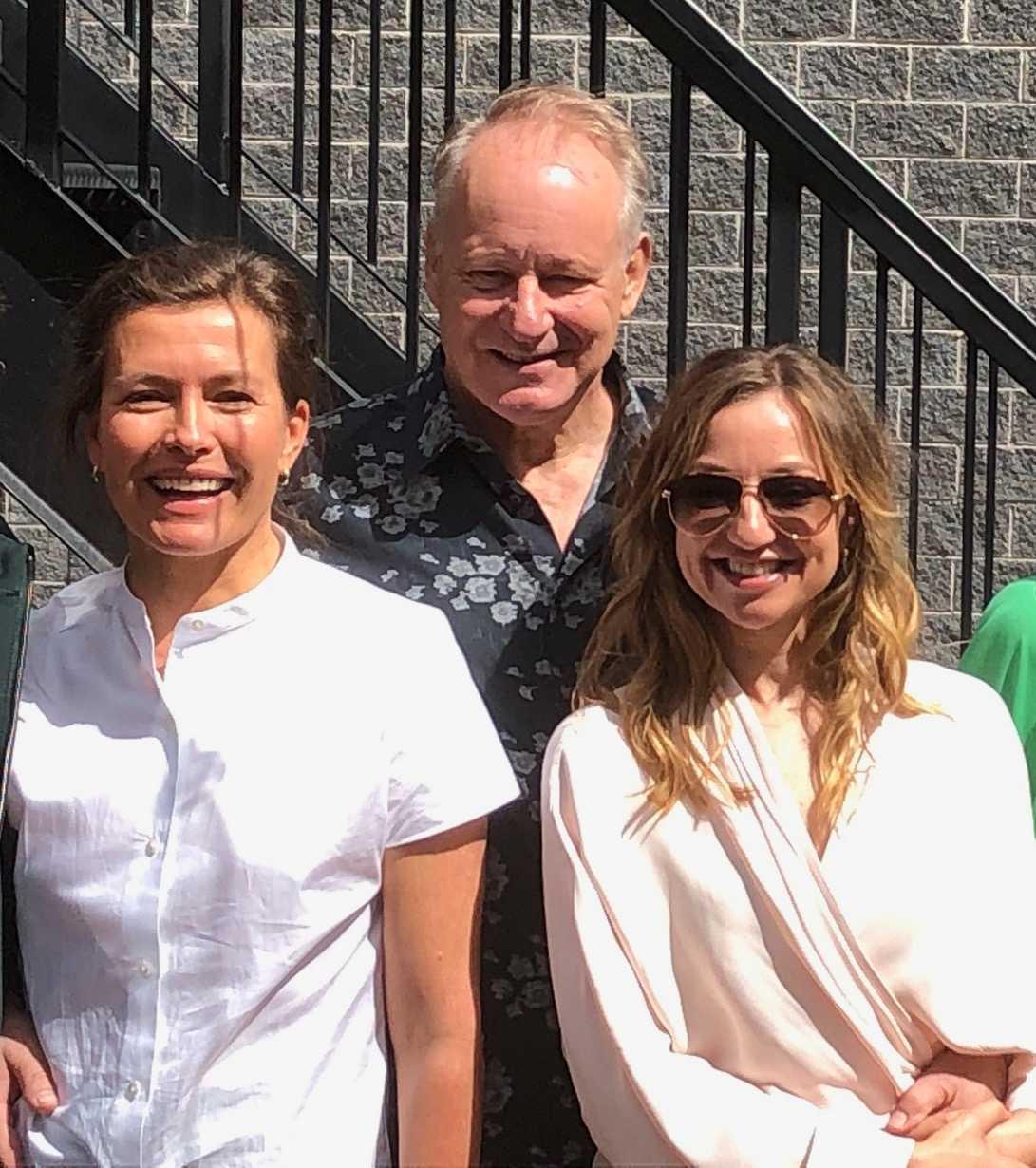 Marie Sødahl, Stellan Skarsgård och Andrea Bræin Hovig.