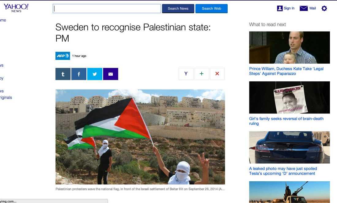 Amerikanska Yahoo News.
