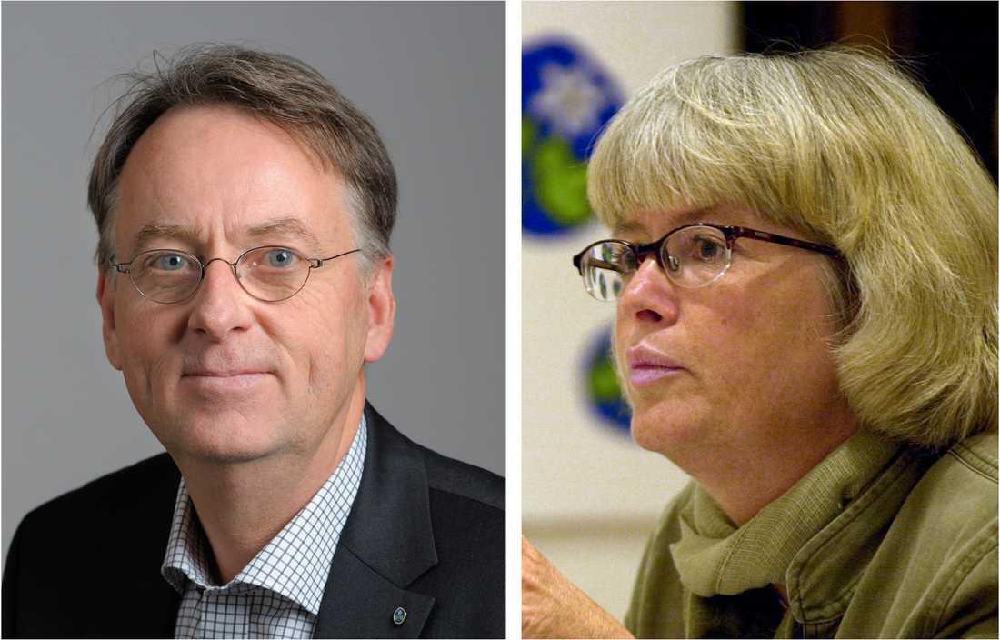 Roland Utbult och Annelie Enochsson har båda kryssat sig in i riksdagen med hjälp av Livets Ord.