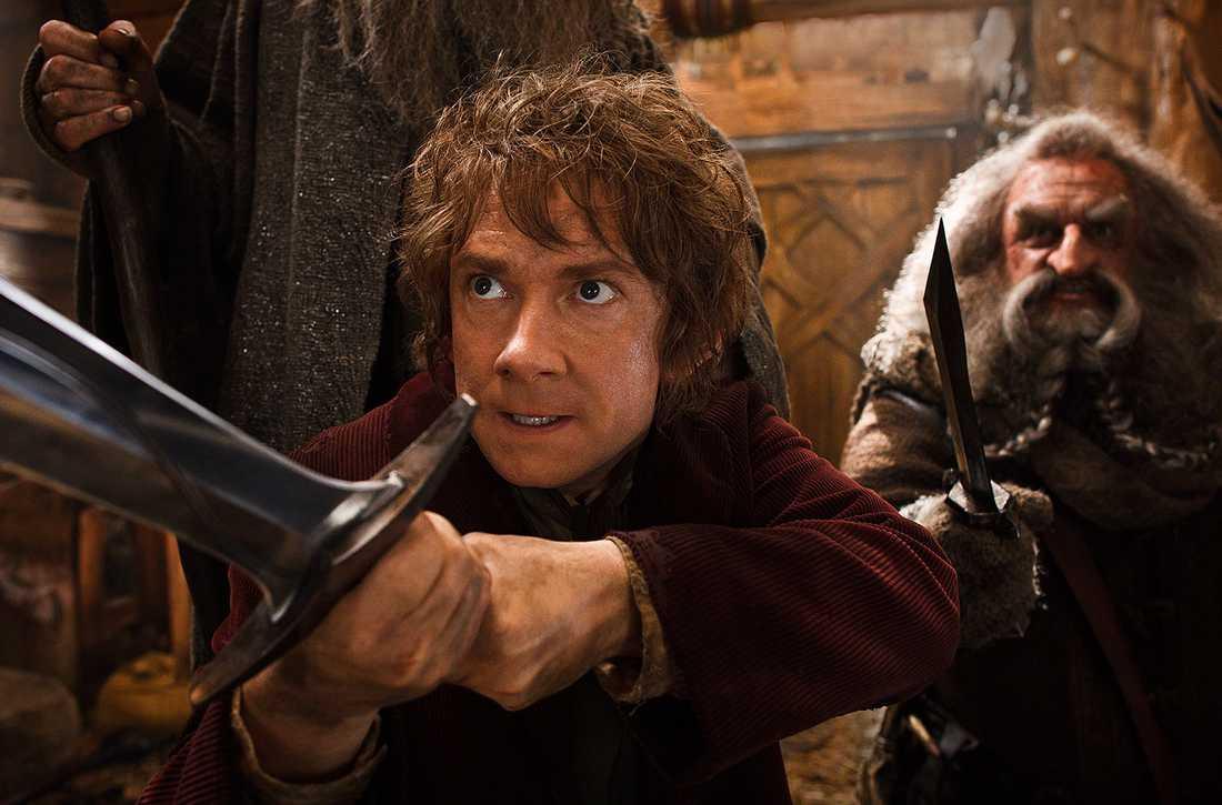 Martin Freeman som Bilbo.