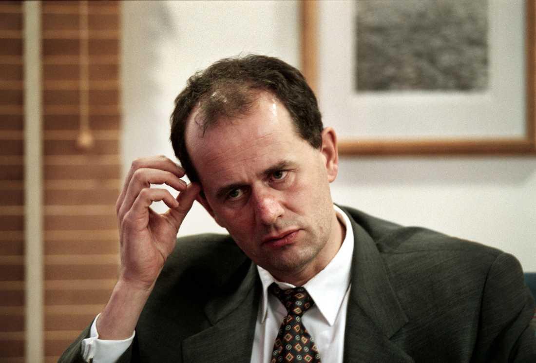 Peter Norman, (m) Finansmarknadsminister.