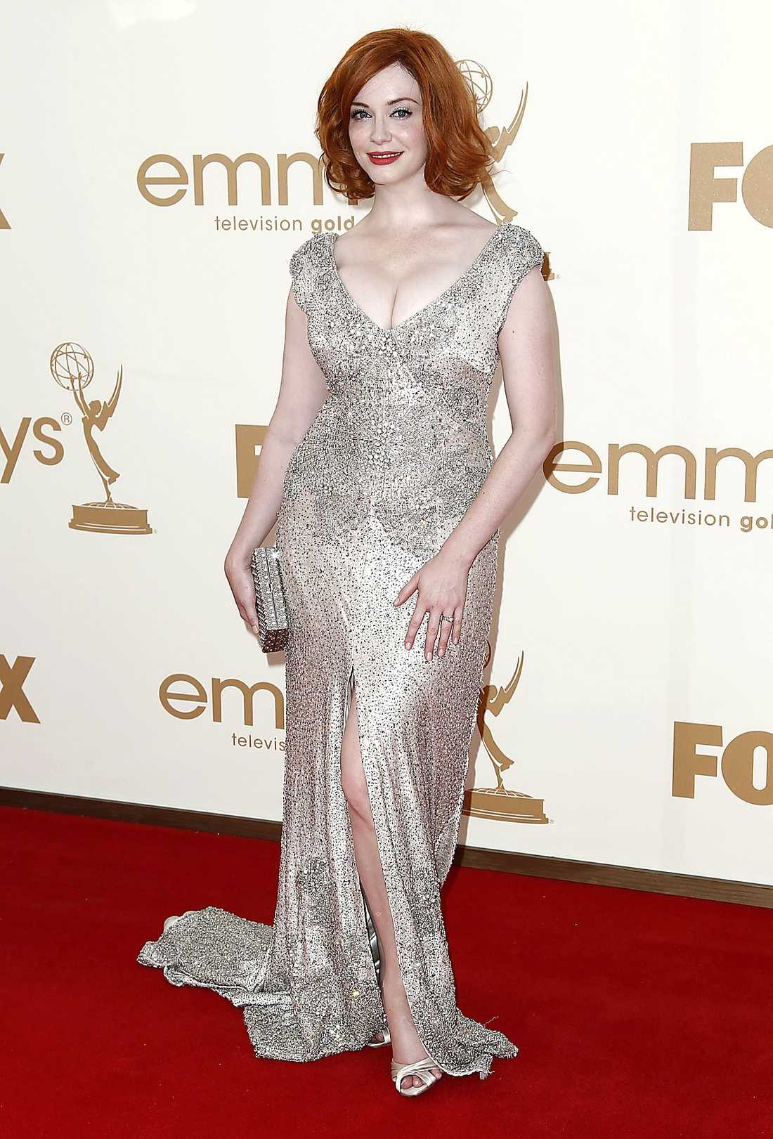 "Christina Hendricks kunde vinna pris för ""Mad men""."