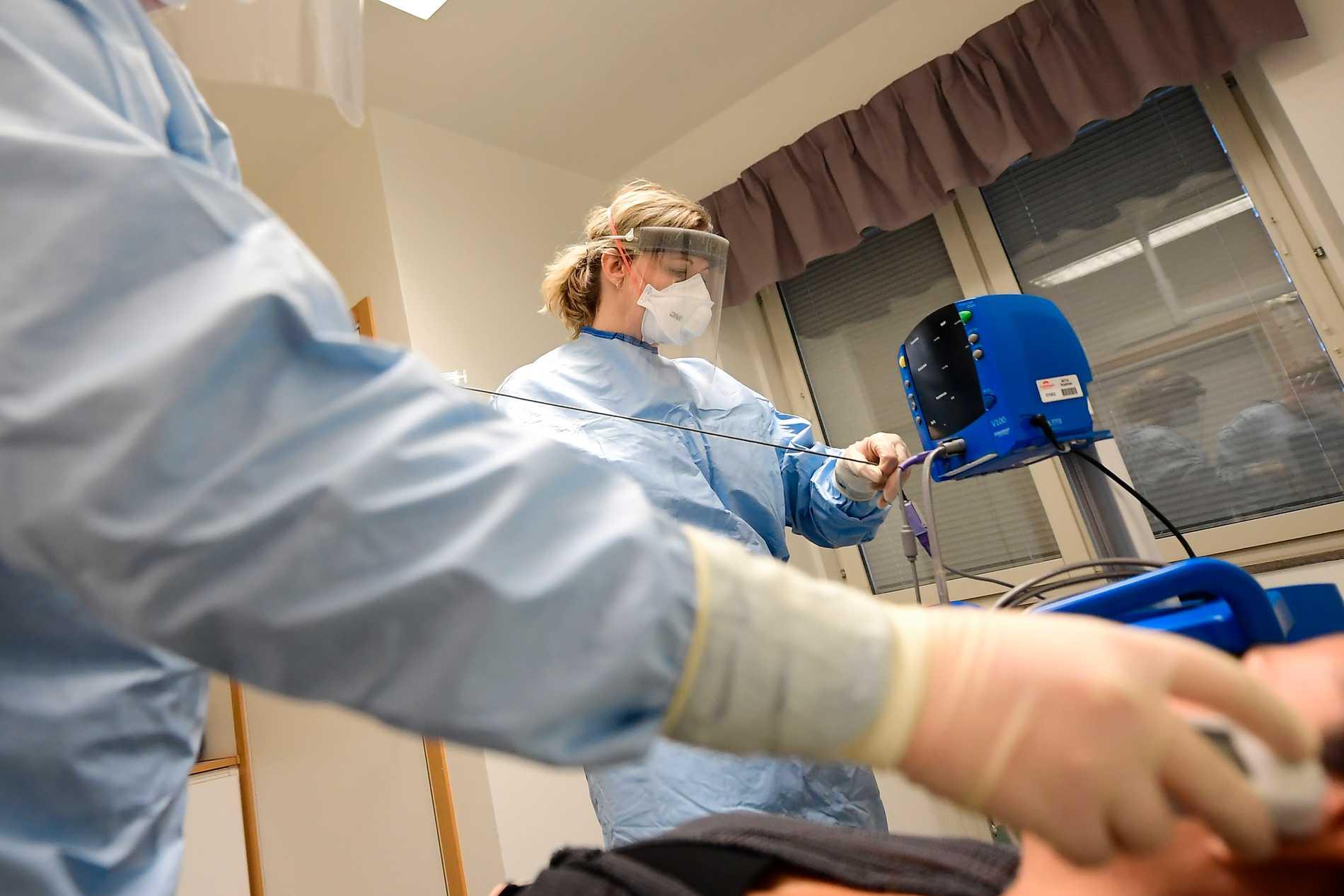 20 personer har avlidit i sviterna av coronaviruset i Sverige. Arkivbild.