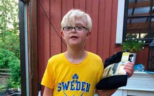 Dante, 12, försvann för tre dagar sedan.