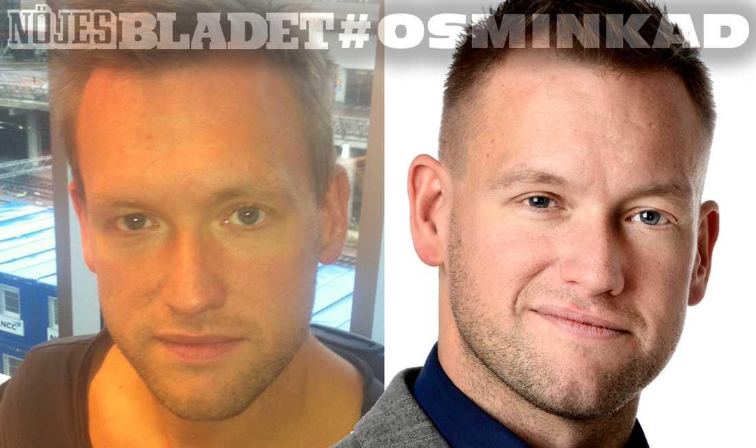 Nöjesbladets reporter Torbjörn Ek.