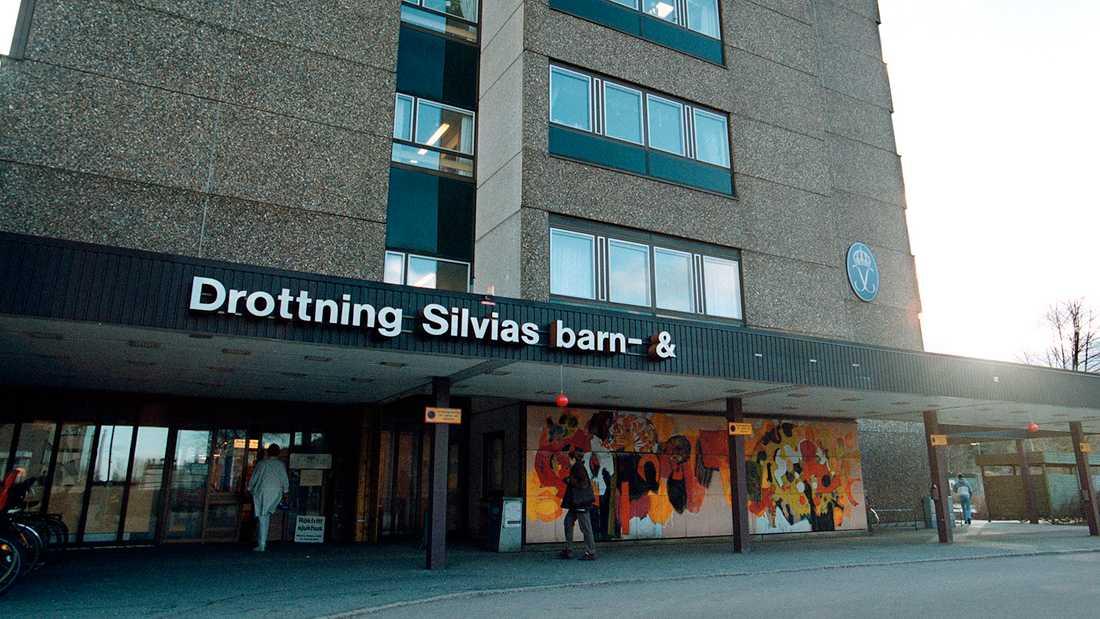 Drottning Silvias barn- och ungdomssjukhus i Göteborg.