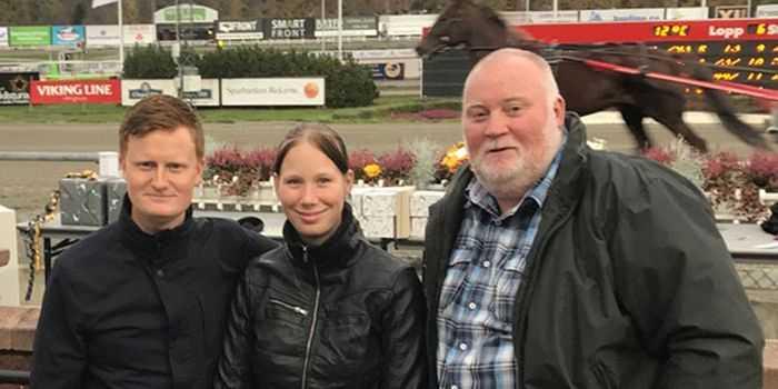 Patrik Fernlund, Jasmine Ising och Leif Bengtsson.