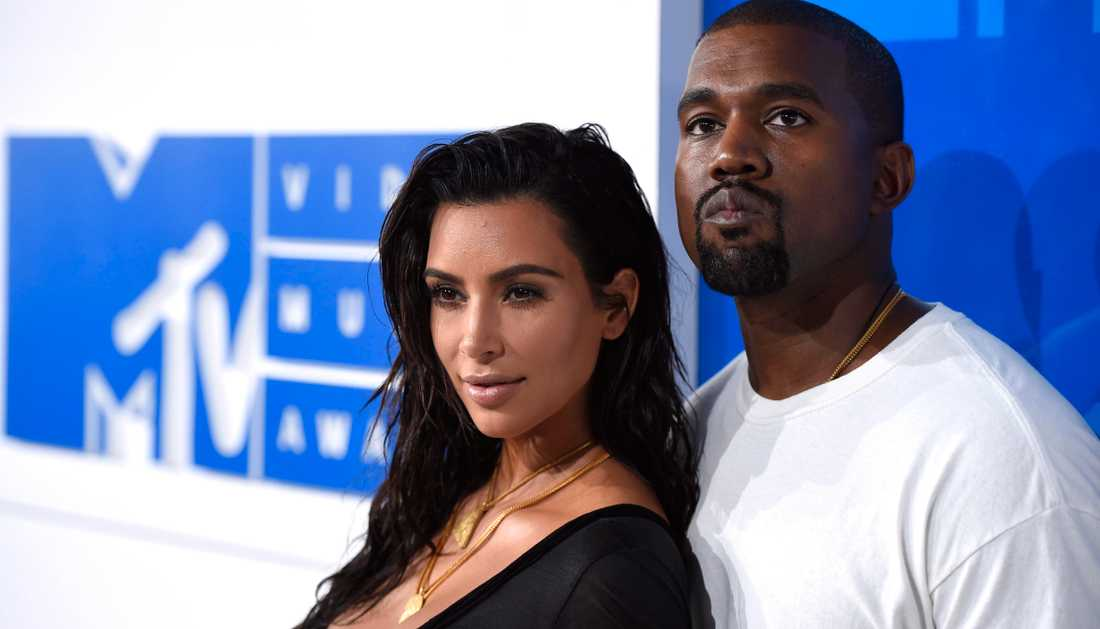 Kim och Kanye.