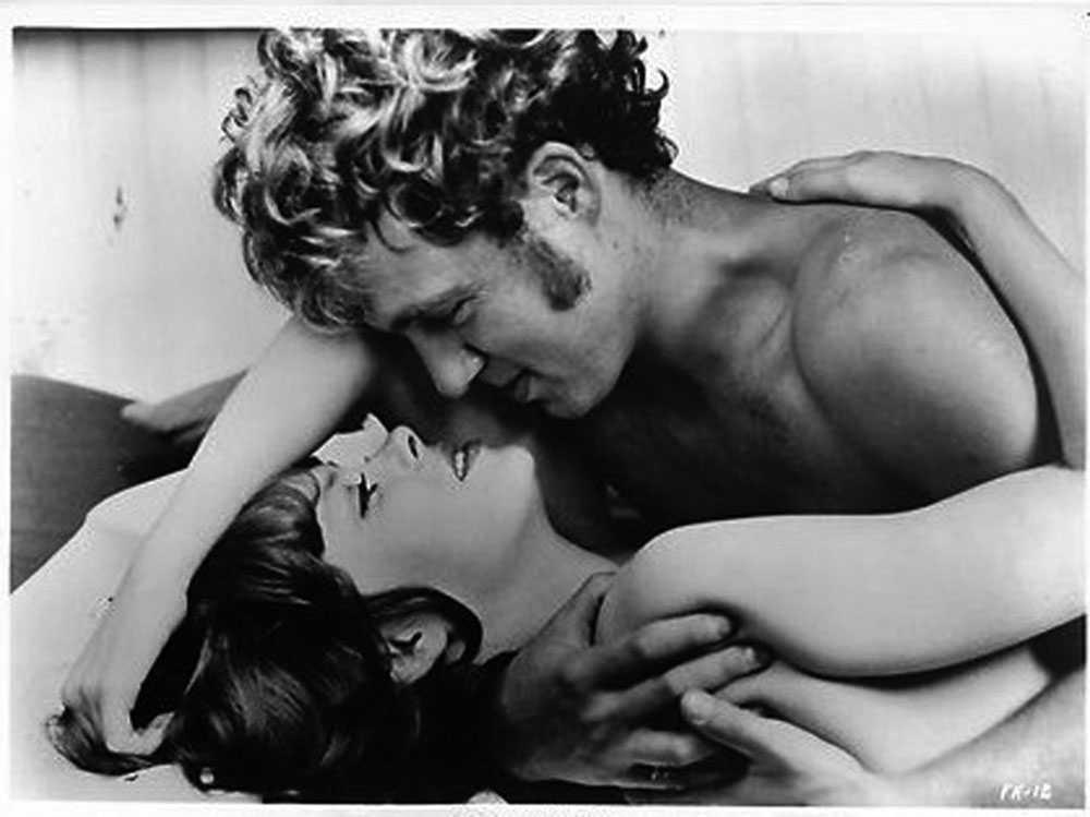 Hans Ernback och Diana Kjaer i Fanny Hill.